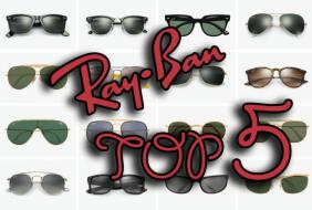 Top 5 Ray-Ban stil ochelari de soare